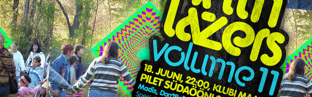 Neljapäev with Lazers: volume 11!