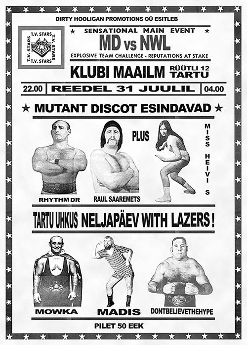 Mutant versus Lazers!