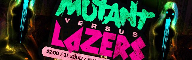 Mutant vs Lazers!