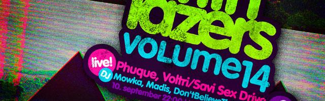 Neljapäev with Lazers: volume 14!