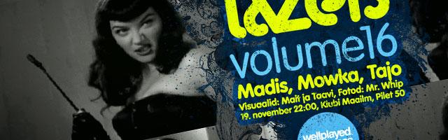 Neljapäev with Lazers: volume 16!